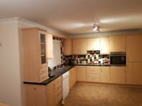 Kitchen for sale. 14 units inc fridge freezer, hob and sink