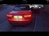 Audi A5 sline convertible