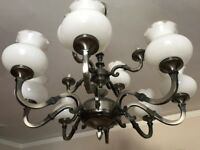 Brass Chandelier - 2 Level 12 Arm for Ceiling