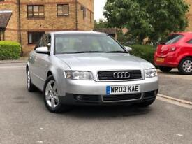 AUDI A4 1.9 TDI 130 BHP FSH DRIVE PERFECT FULL LEATHER SEATS HPI CLEAR