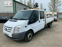2012/62 FORD TRANSIT PICK UP. NOT TIPPER