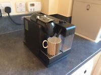 Nesspresso Coffee machine. Special bronze finish. As new condition.
