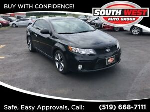 2011 Kia Forte Koup SX, NAV, LEATHER, ROOF, LOADED!!!