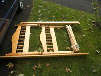 Pine single 3' bed frame