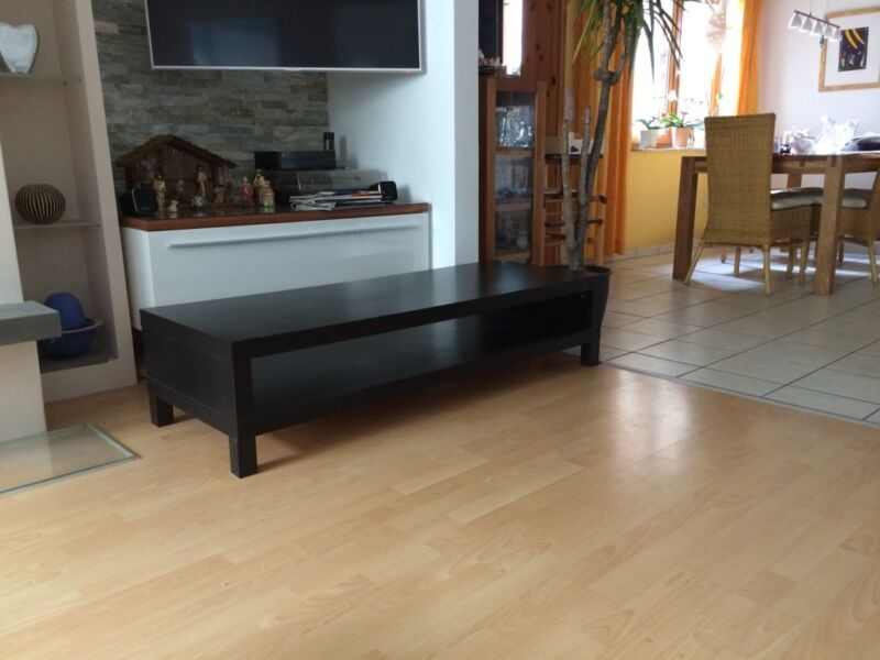 ikea lack tv bank tv board sideboard longboard 149x55 cm in nordrhein westfalen troisdorf. Black Bedroom Furniture Sets. Home Design Ideas