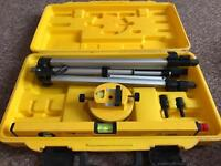 Tools- various-laser level surveying kit- handy saw- impact wrench- rotary drill-