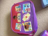 Brand new doc mcstuffin lunch box
