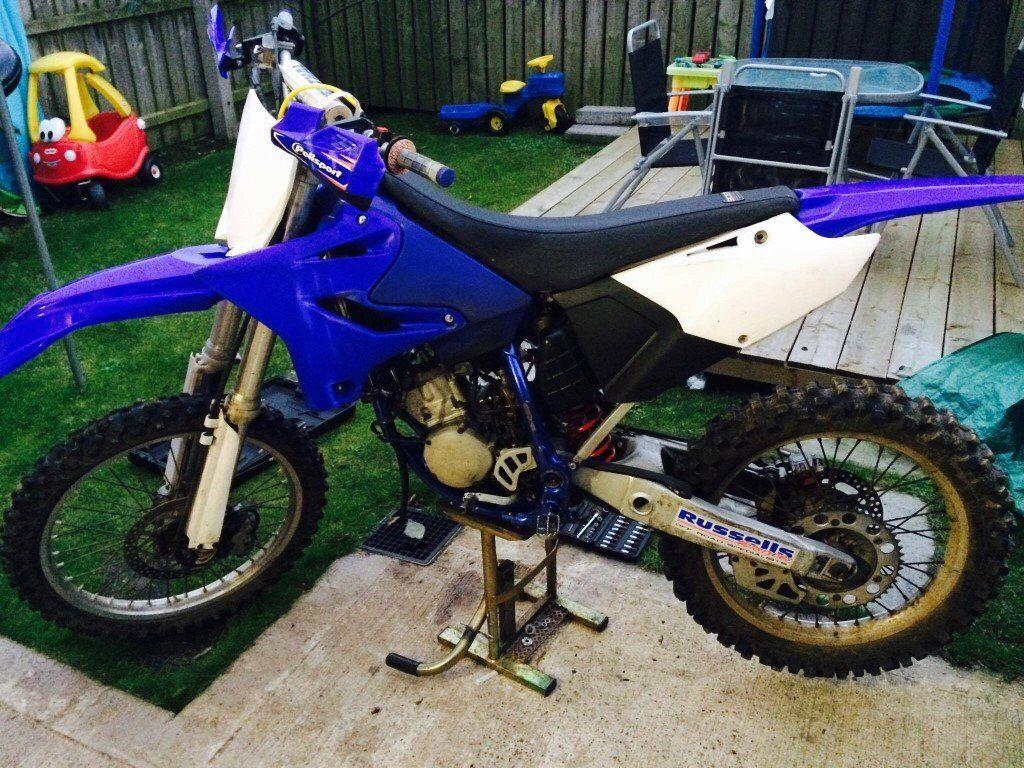 Yamaha yz125 2004 restyled