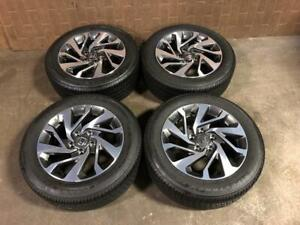 2015-2018  HONDA CIVIC OEM MAGS 16 INCH 215/55R16 WHEELS WITH GOOD TIRES FIRESTONE FOR  SALE