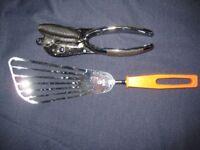 Stainless Steel Tin Opener and Egg Flip