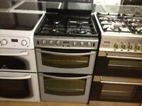 Silver stoves gas cooker (double oven)