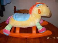 KiddieLand Vtec Baby's First Rocker / Cuddle Toys Perfect As good as NEW
