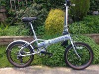 "Viking Safari SE 6 Speed Native Folding Bike,20""wheels/new Road Tyres £40,excellent"