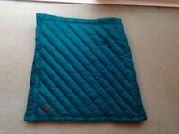 Big Agnes Insulating 100% Down Fill Green Zirkel Circle 17-inch Skirt 8-10 RRP £93 BRAND NEW NO TAGS
