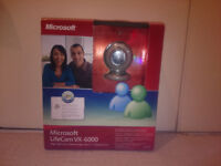 Microsoft LifeCam VX-6000 Webcam – windows vista/xp - £10