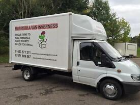 Man With A Van Inverness. Home Removals.