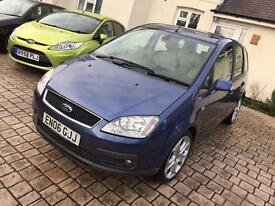 2006 Ford C-Max ghia 2.0tdci-FSH-Full Leather-Very High Spec!