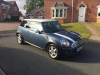 MINI HATCH 1.6 COOPER DIESEL 3dr 2010! LOW MILEAGE! EXCELLENT CONDITION! 12 MONTHS MOT!£20 YEAR TAX!