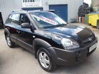 Hyundai TUCSON CRTD-GSI,4 wheel drive,5 dr hatchback,stunning black,great for towing,great on diesel