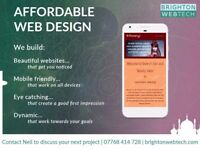 Beautiful, affordable Website Design