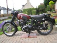 1955 MATCHLESS G3LS 350cc CLASSIC MOTORCYCLE