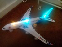 Aeroplane with sound and lights