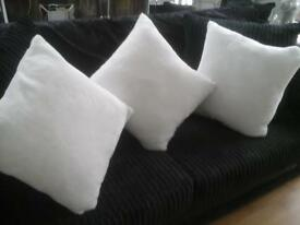 3 new white sofe fur derhams £18 for3