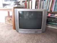 "Television, 20"" screen, with freeview box and DVD player"