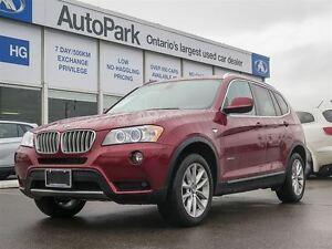 2013 BMW X3 Panoramic Sunroof| Heated Seats| Alloys