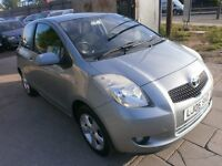 2006 TOYOTA YARIS 1,3T SPIRIT AUTOMATIC, SERVICE HISTORY, HPI CLEAR, DRIVES LIKE NEW, VERY NICE CAR