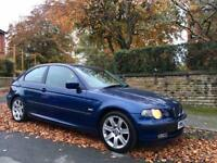 2003 BMW 320 TD Compact Auto Diesel. INDIVIDUAL SPEC Low Miles. STARTING PROBLEM!