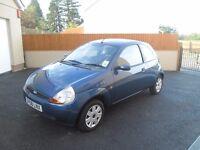 2008 Ford Ka 1.3 Petrol, 1 Owner, Low Mileage.