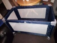 travel cot play cot