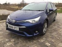 Toyota Avensis 2016 Automatic Only £12500