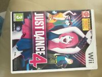Just Dance 4 dvd.