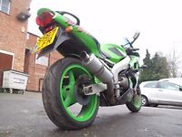KAWASAKI ZX6R ZX600 G2 RUNNING PROJECT / TRACK BIKE DELIVERY AVAILABLE ALL OVER THE UK