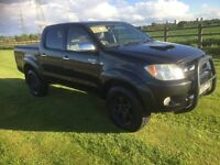 2005 TOYOTA HILUX 3.0 D4D VIGO 4X4 DIESEL AUTOMATIC PICK UP AIR-CON EXPORT PX