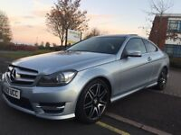 MERCEDES C250 AMG SPORT PLUS CDI BLUE-EFFICENCY PAN ROOF, 7G-TRONIC, COMMAND NAV, TOP SPEC