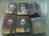 star trek the next generation the collectors ediion DVDs full complete set of 60 DVDs