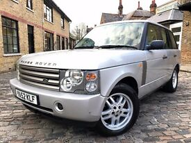 Land Rover Range Rover 3.0 Td6 SE ONLY 1 OWNER FROM NEW*FULL S/H 2003 (52 reg), SUV