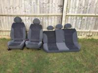 Corsa c front and rear seats (Full Set)