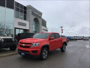 2017 Chevrolet Colorado 4WD WT, ONE OWNER, Clean Carproof