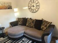 DFS 3 Seater Sofa and Chair
