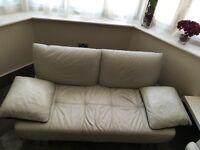 3 piece corner sofa set + arm chair & footrest