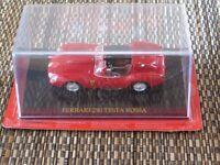 Red Ferrari Testa Rossa 250 1.43 scale