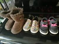 Kids shoes (vans nikes uggs)