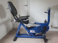 EZ RIDER EZ:001 Recumbent Heavy duty exercise bike