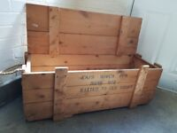 Landrover Military wooden Box