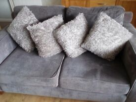 Cushions for sale x4 in grey