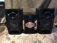 Panasonic SA-AK580 5 disc multi change stereo system